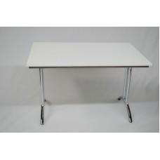 Konferenztisch 120 x 80 cm, weiß